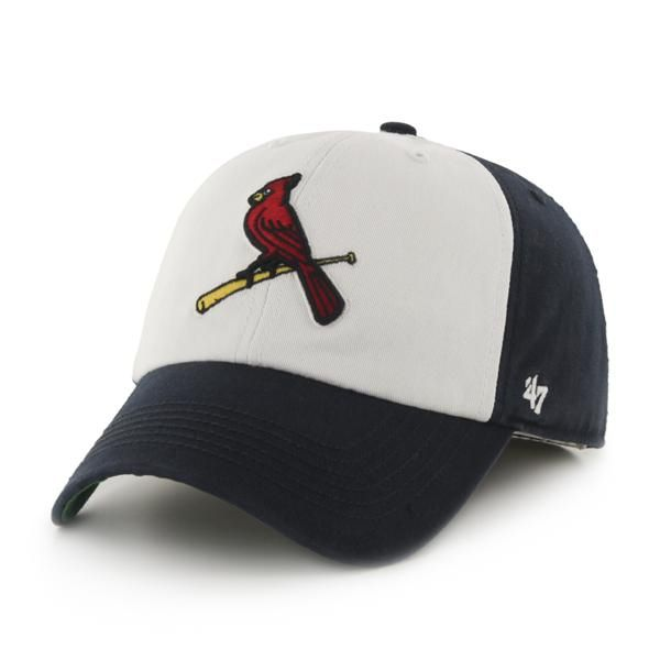 94f2366ed651b St. Louis Cardinals Freshman Navy 47 Brand Fitted Hat