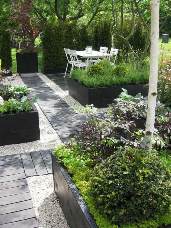 Nos Propositions En Vidéos Pour Faire Une Allée De Jardin! | Gardens,  Patios And Black Garden