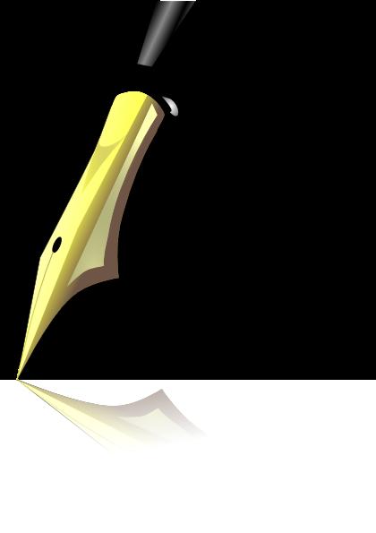 Vector Clip Art Online Royalty Free Public Domain Fountain Pen Clip Art Pen