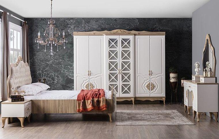 Balat Cream Bedroom Bedroom Bed Design Classic Bedroom Furniture