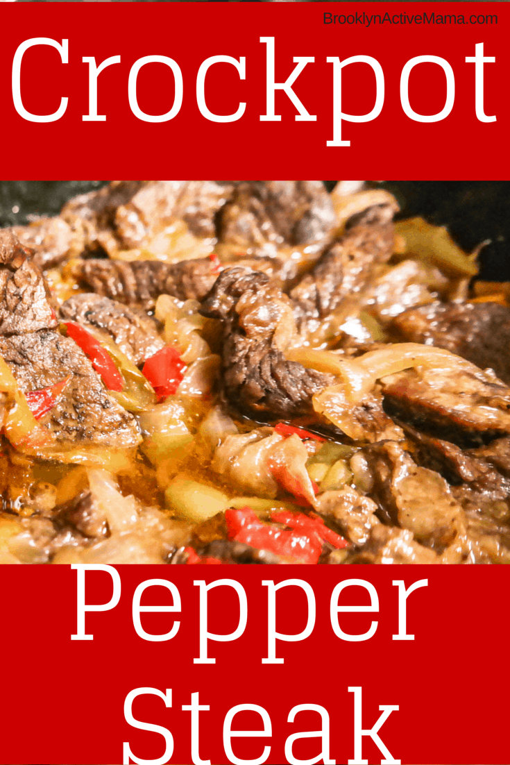 easy crockpot pepper steak  recipe  pepper steak
