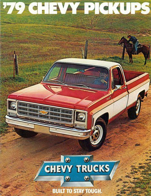 1979 chevrolet silverado pickup truck | vintage car ads | chevy