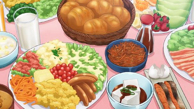 Anime Food Hobbit food, Food illustrations, Pretty food