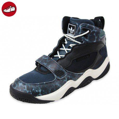 best website cc053 65c9b Adidas - FYW REIGN - Basketballschuh - Mid Top Sneaker - Schwarz  Blau   Weiß