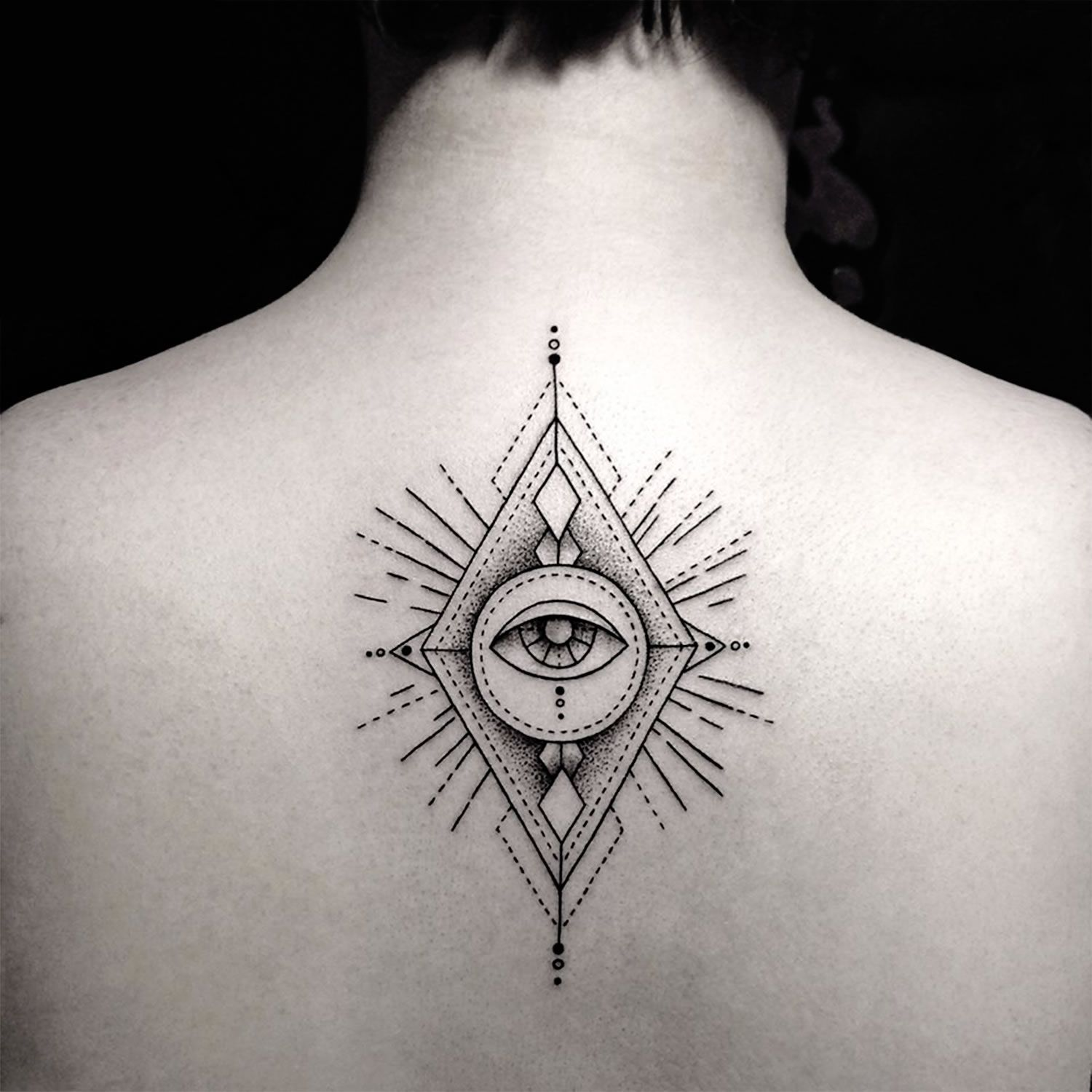 """9e21d9fe5 Tattoos of the Mighty """"Eye of Providence""""   Inspiration   Third eye ..."""