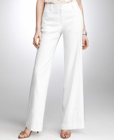 Curvy Linen Wide-Leg Pants