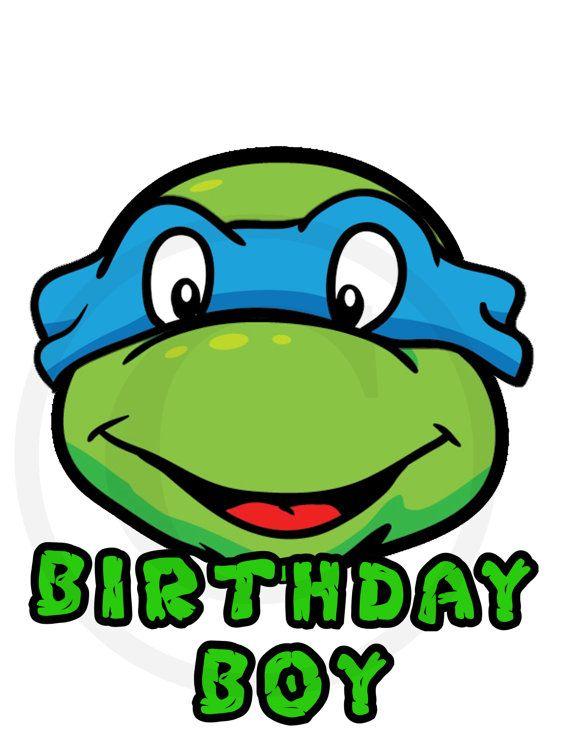 on sale teenage mutant ninja turtle iron by myprintablepartyline rh pinterest ca ninja turtle birthday clipart