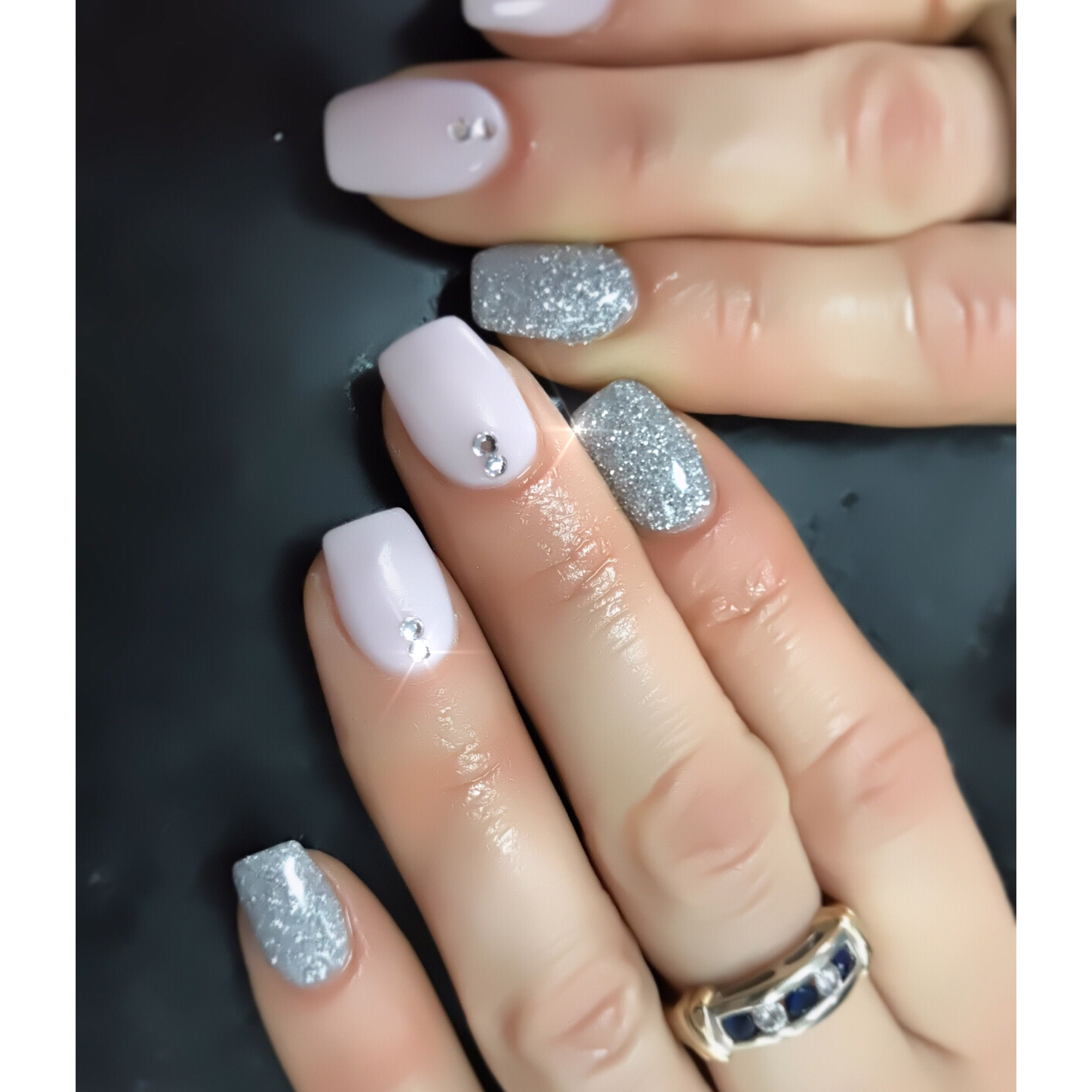Fancy Anc Wedding Nails Conceptwedding Nailsombreamazing