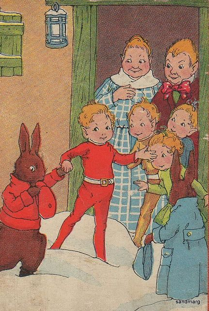 1935 Peter Rabbit and the Tinybits by sandmarg.etsy, via Flickr