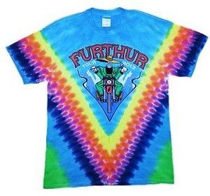 daf8c281c Grateful Dead - Furthur 2013 Summer Tour Tie Dye T-Shirt This Furthur T-