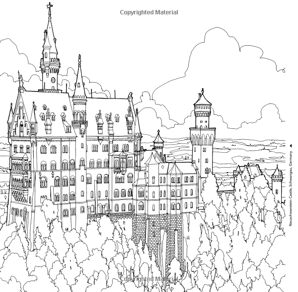 Estructuras fantásticos: un libro para colorear de sorprendentes ...