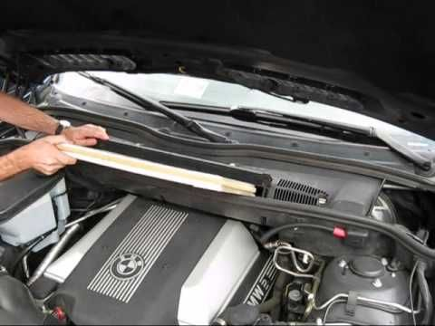 Cabin Air Filter Replacement  BMW X5