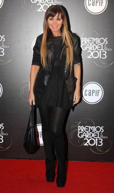 Daniela Premios Gardel 2013