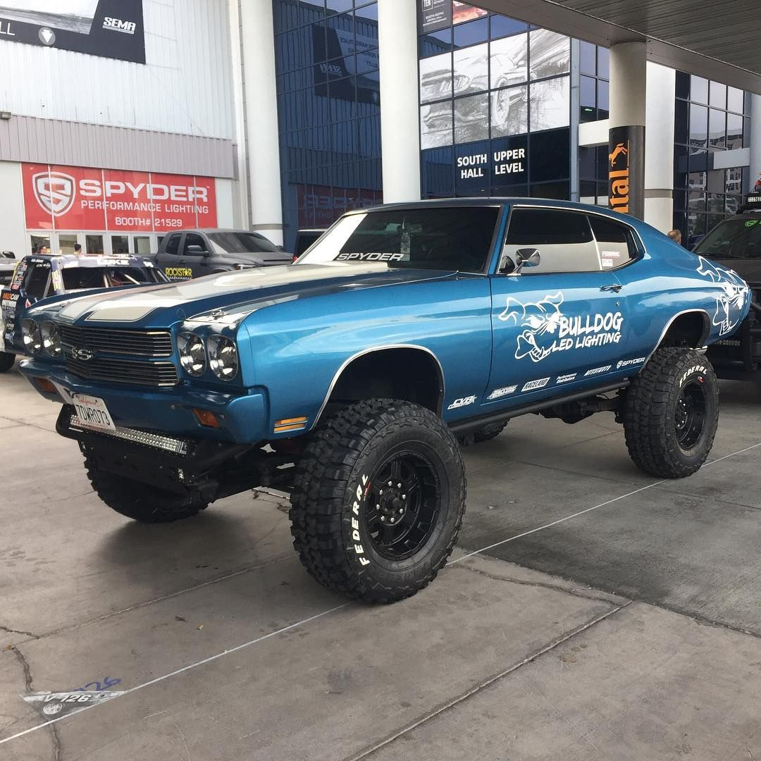 Lifted Muscle Car Yes Please