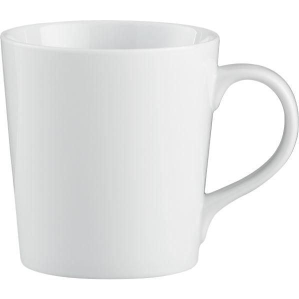 Everyday Mug Housewares White Coffee Mugs Plain