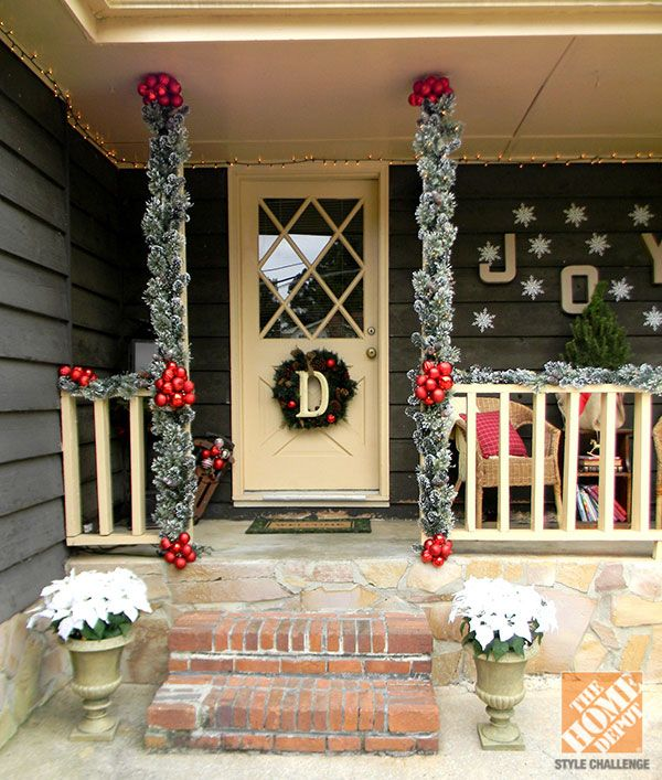 Country Front Door Decorations: Holiday Decorating Ideas For The Front Door