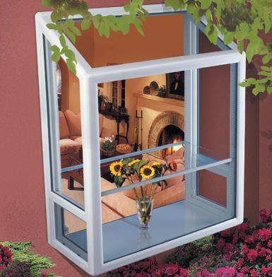 Vinyl Garden Window Windows, Are Garden Windows Out Of Style