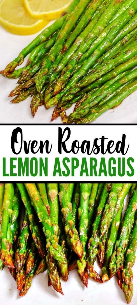 quick and easy Oven Roasted Lemon Asparagus Recipe is one of the best vegetable side dishes you can