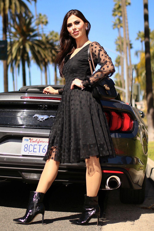 a1c2f16c34c6 Vestido Giovana Moda Evangélica Gisele Santana - Vestido da marca Gisele  Santana confeccionado no tecido de Tule modernizado. Possui modelagem Godê.