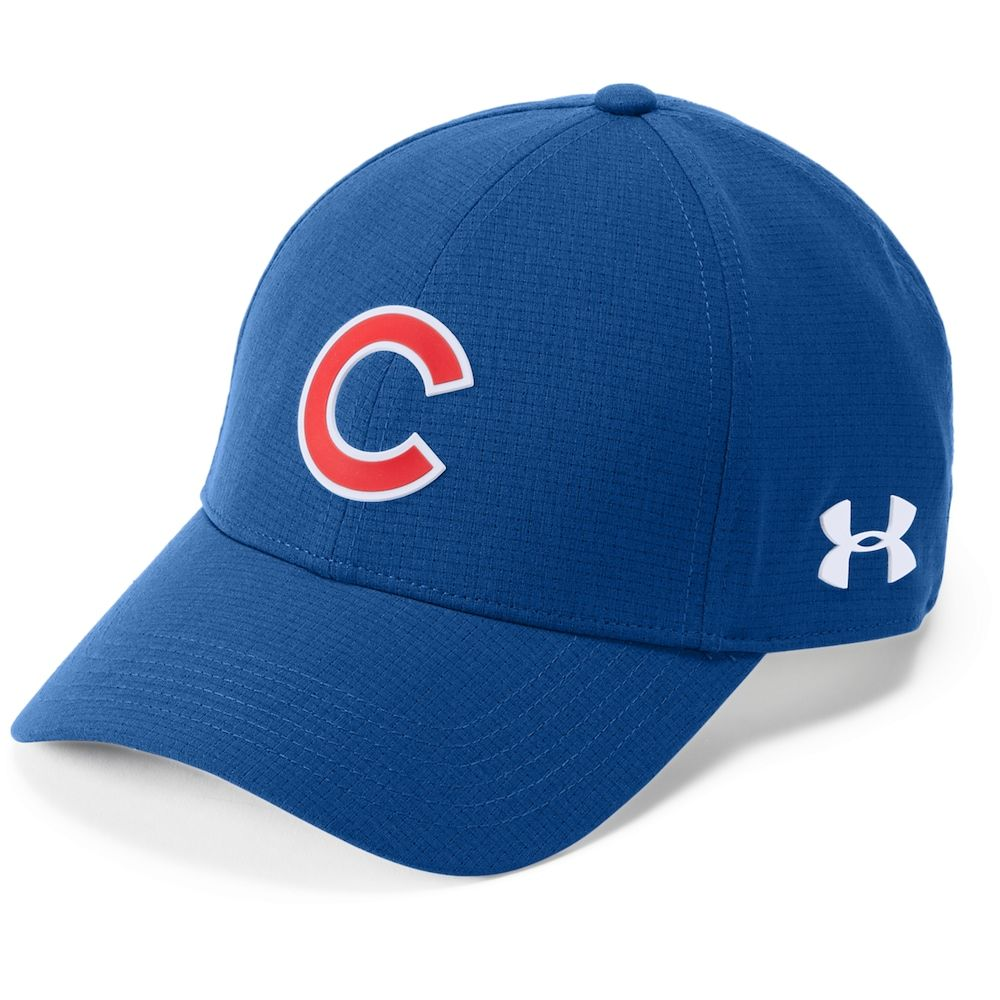 f40e976ae9b Men s Under Armour Chicago Cubs Driving Adjustable Cap