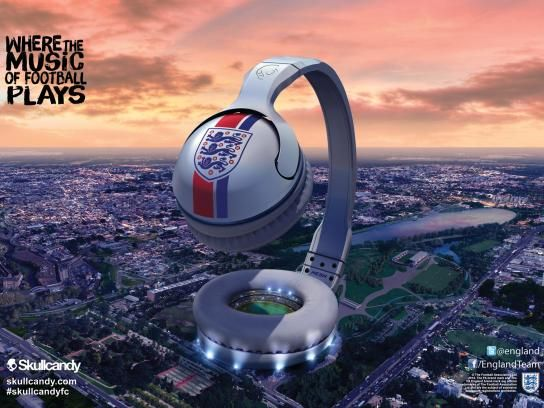 Skullcandy:  Where the music of football plays, 1