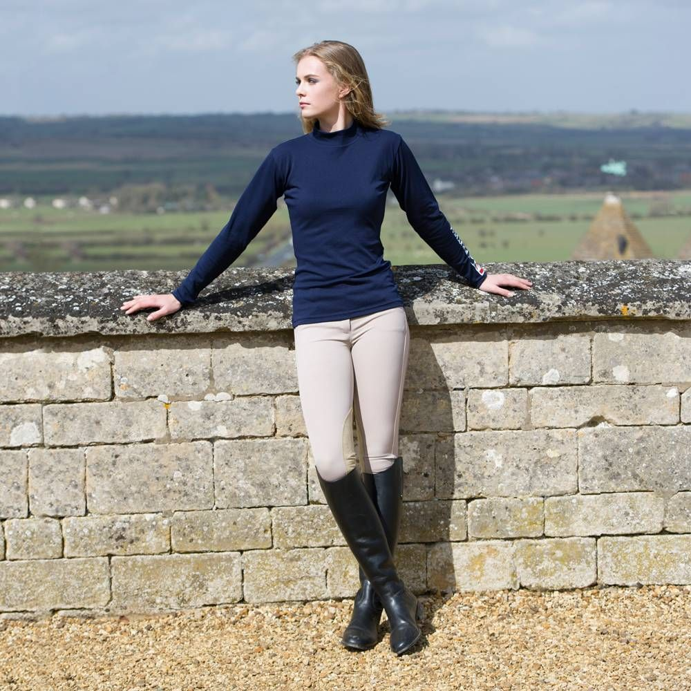 British Eventing Coolmax Breeches - Girls | Elegant Equestrian ...