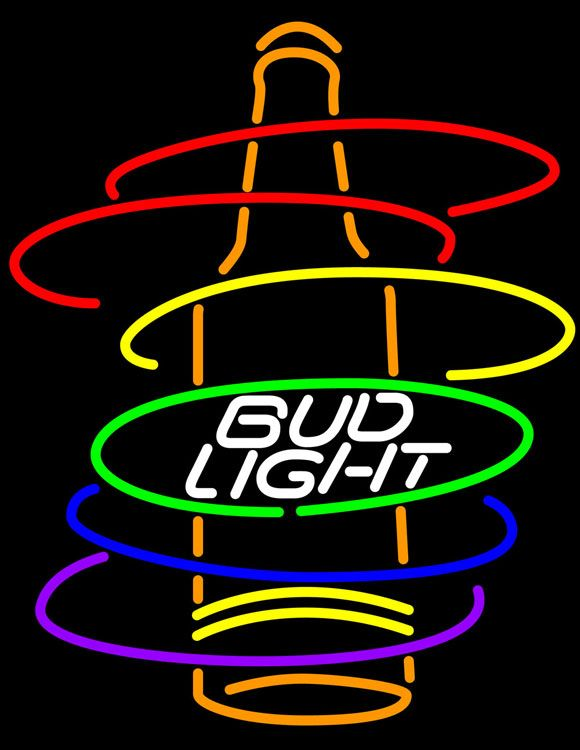 Neon Bud Light For Bat