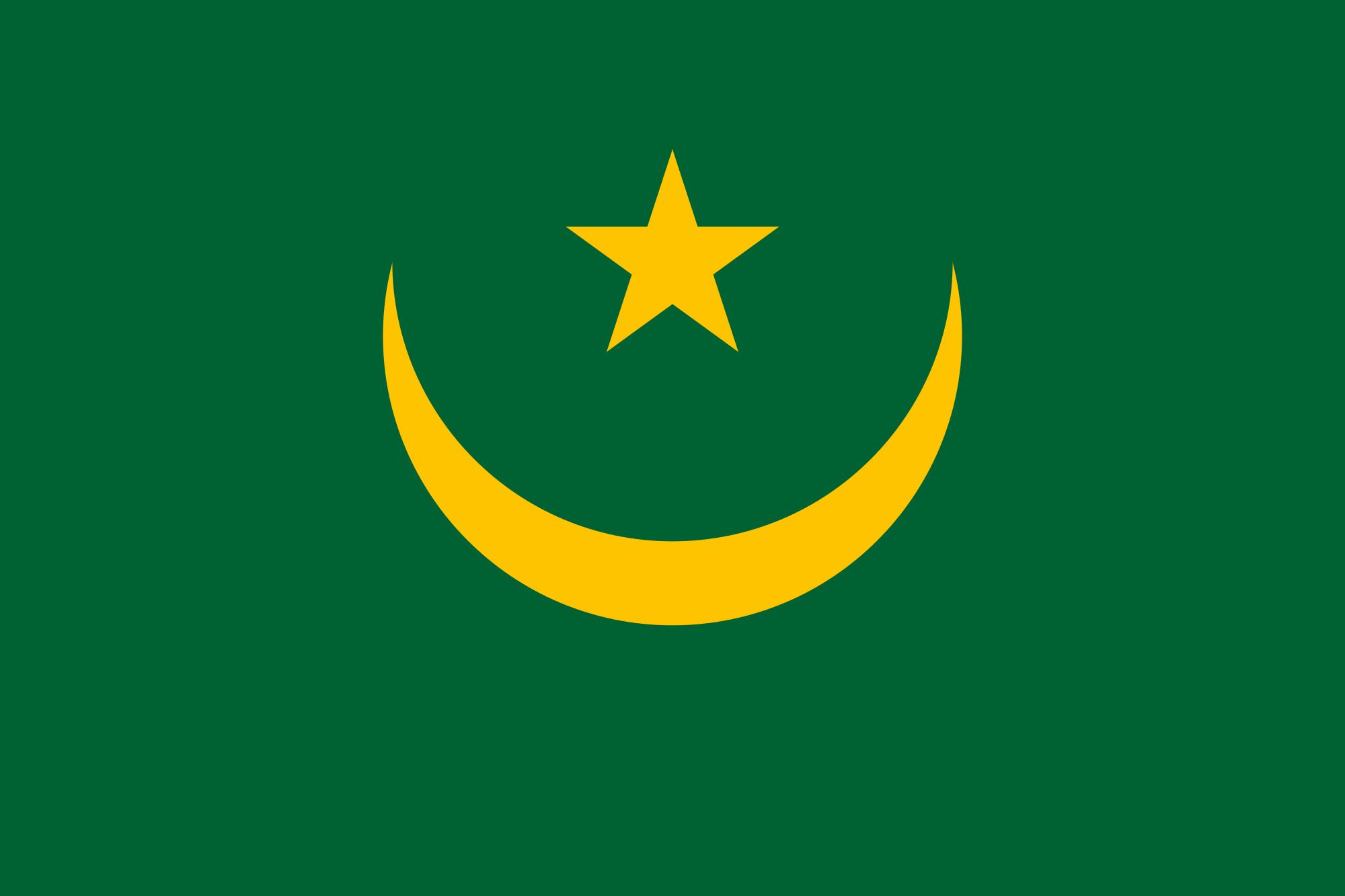 Mauritania Flag colors  meaning  history of Mauritania Flag