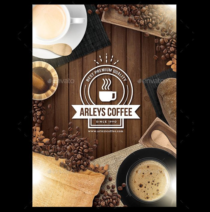 Eye-Catching-Coffee-Menu-Flyer | Flyer Templates | Pinterest