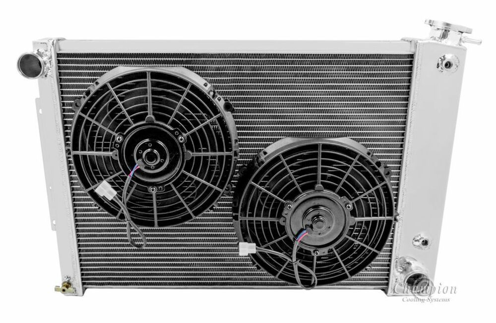 Ebay Sponsored 4 Row Rs Champion Radiator10 Fans For 1967 1969