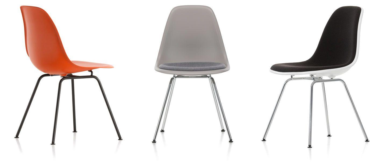 Eames Plastic Side Chair Dsx Chaise Fauteuil Mobilier De Salon Eames