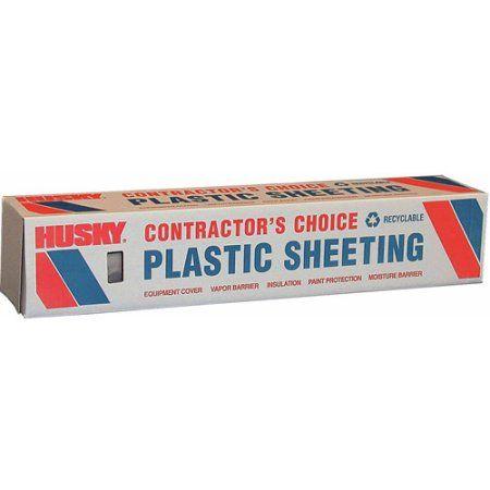 Poly-america 6 mL Tyco Polyethylene Opaque Plastic Sheeting