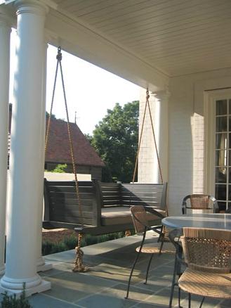 Pursley Architecture + Porch Swing