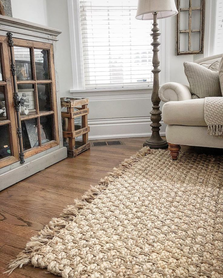 50+ Farmhouse living room rug info