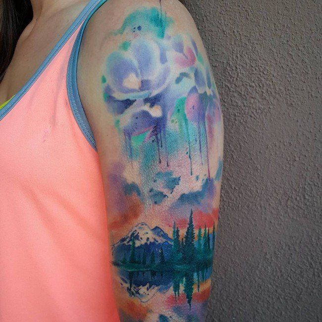 Pin By Cheyenne Cincinelli On Tattoos Wild Tattoo Watercolor