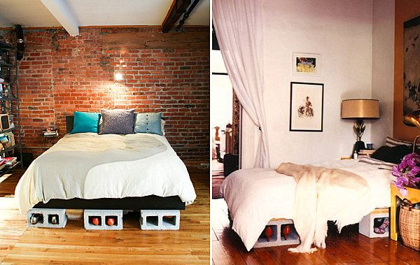DIY Projects With Cinder Blocks Ideas, Inspirations | Cinder, Bunk Bed And  Storage