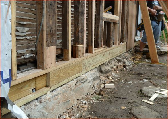 Repairing Rotted Wall Studs On Exterior Wall Google Search