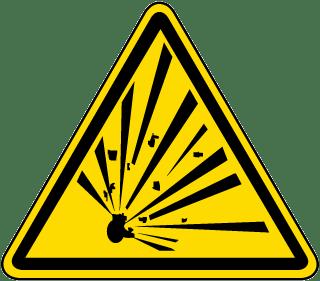 Blasting And Explosion Warning Sign Google Search Warning Labels Labels Warning Signs