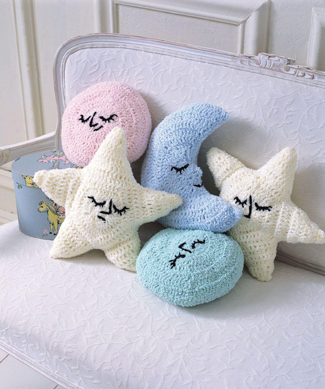 Moon u stars baby pillows cojines pinterest baby pillows