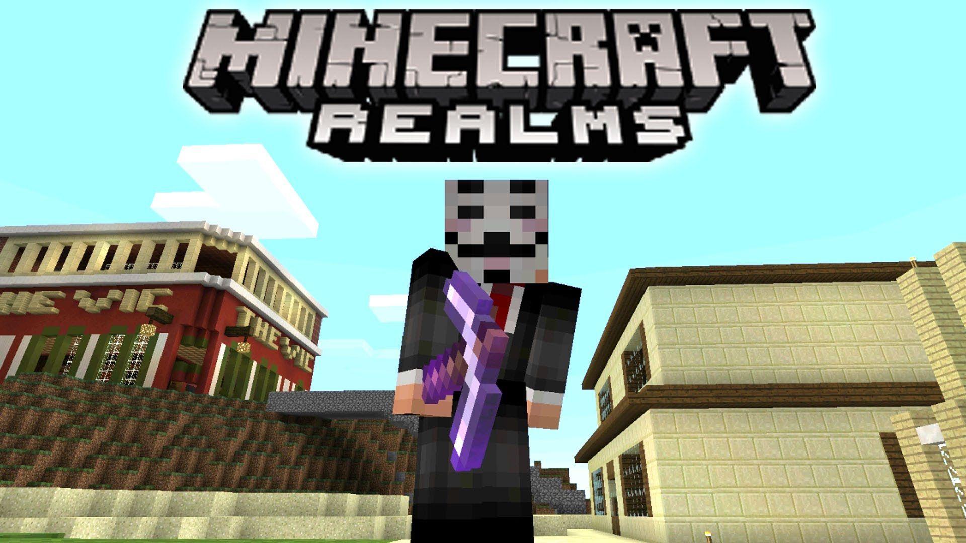 Minecraft PE REALMS