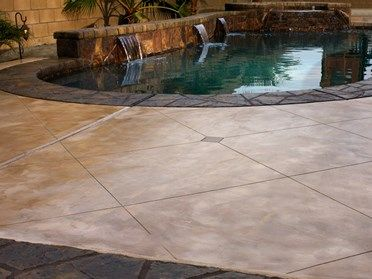 Scored Concrete Floors And Patios The