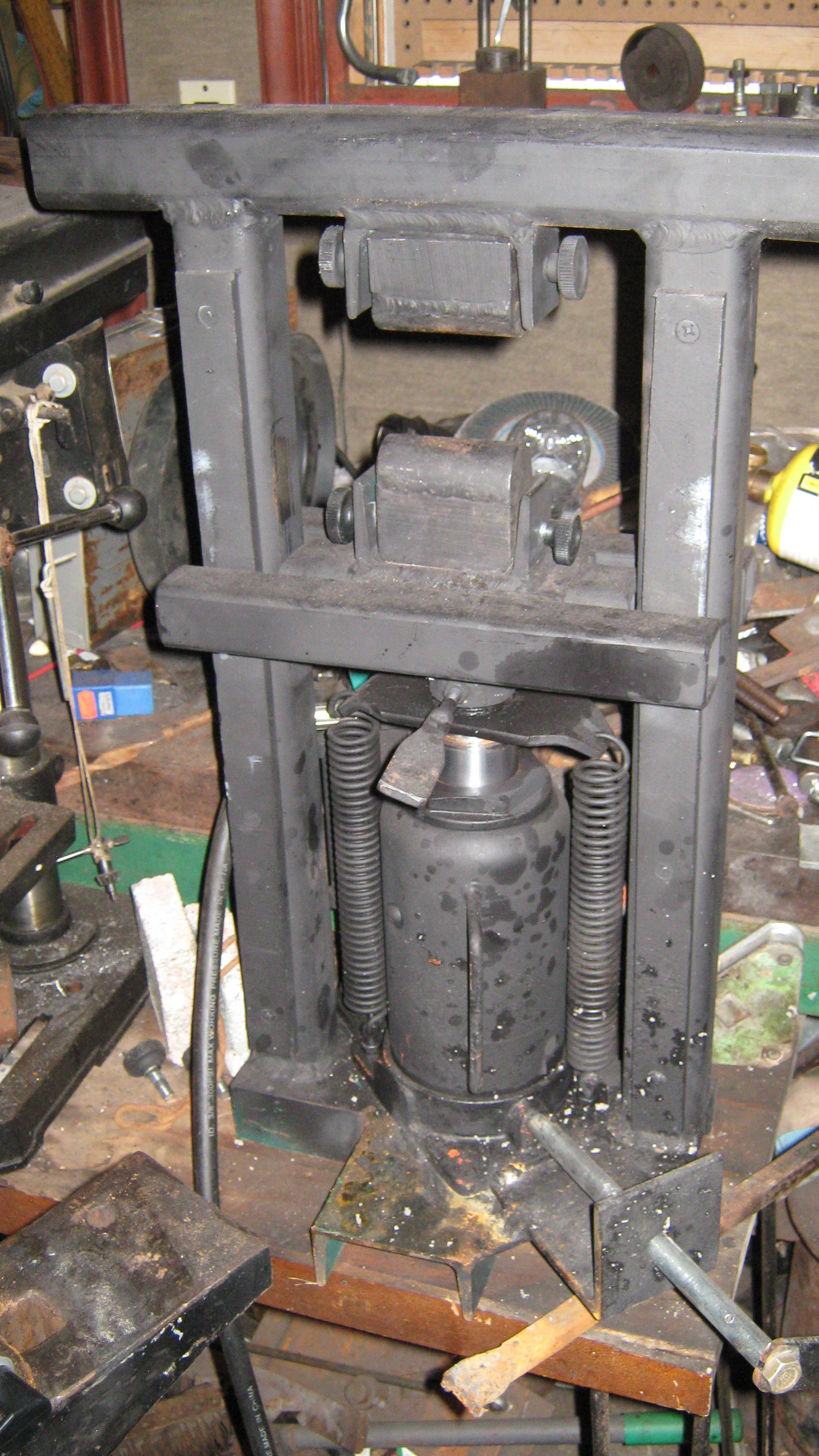 The Mini Hydraulic Press Smith Forging Tools Metal