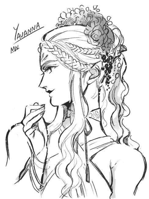 Yavanna.  Source: mallow213