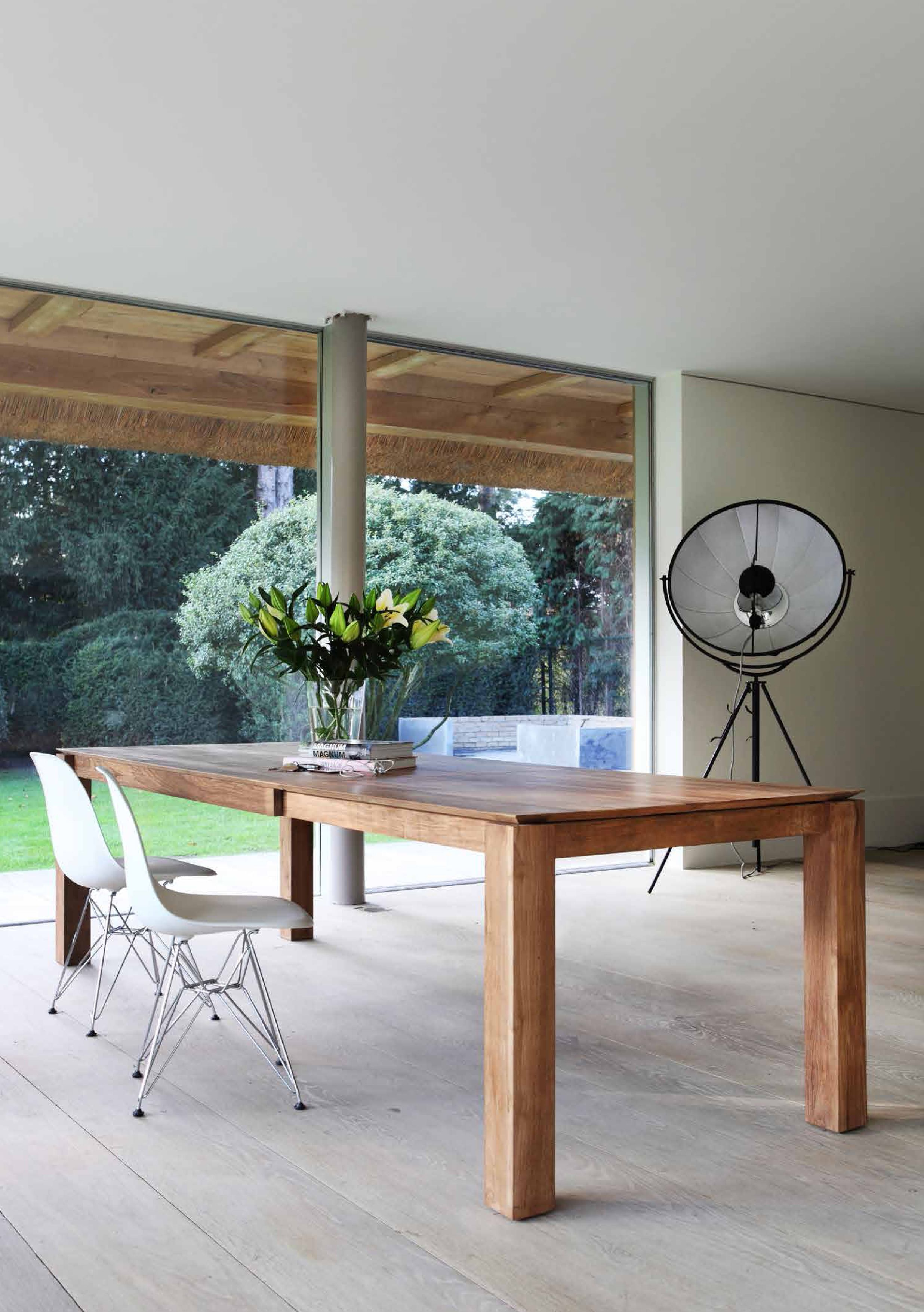 Teak Slice Extendable Dining Table Wonders In Wood By Ethnicraft Mobilier De Salle A Manger Meuble Salle A Manger Et Table A Manger En Chene