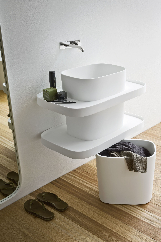 Elegant Avi- Corian Bathroom by Plavisdesign