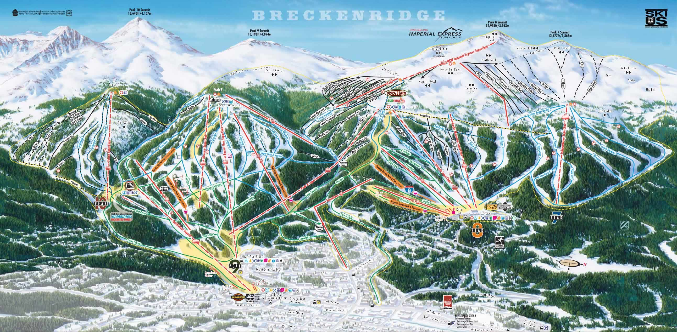 Breckenridge Ski Resort Http Mski Co Listing Breckenridge Ski Resort Breckenridge Ski Resort Ski Breckenridge Colorado Skiing