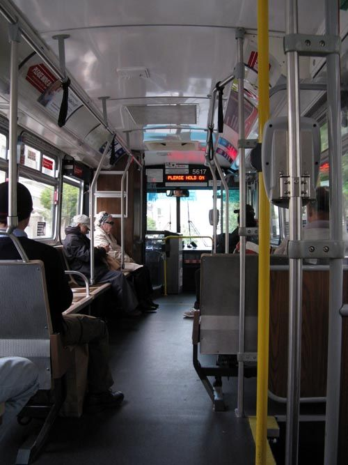 san francisco bus interior - Google Search