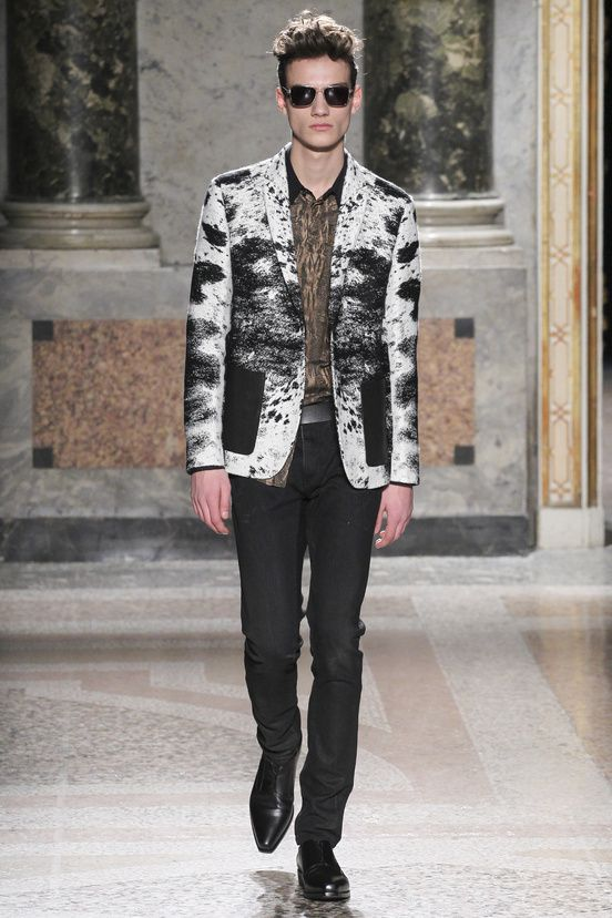 753cc066537 Roberto Cavalli homme collection automne-hiver 2015-2016  mode  fashion