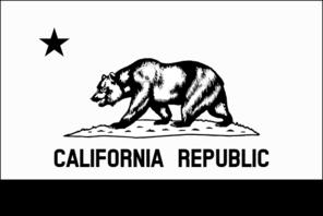 Black And White California Flag Clip Art Vector Clip Art Online Royalty Free Public Domain Black And White Flag California Flag Flag Coloring Pages