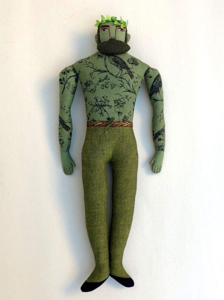 Black Baby Doll Tattoo: Green Man Tattoo, Green Man, Wear Green